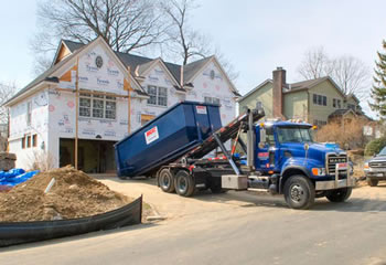 truck for dumpster rentals in Yonkers, New York
